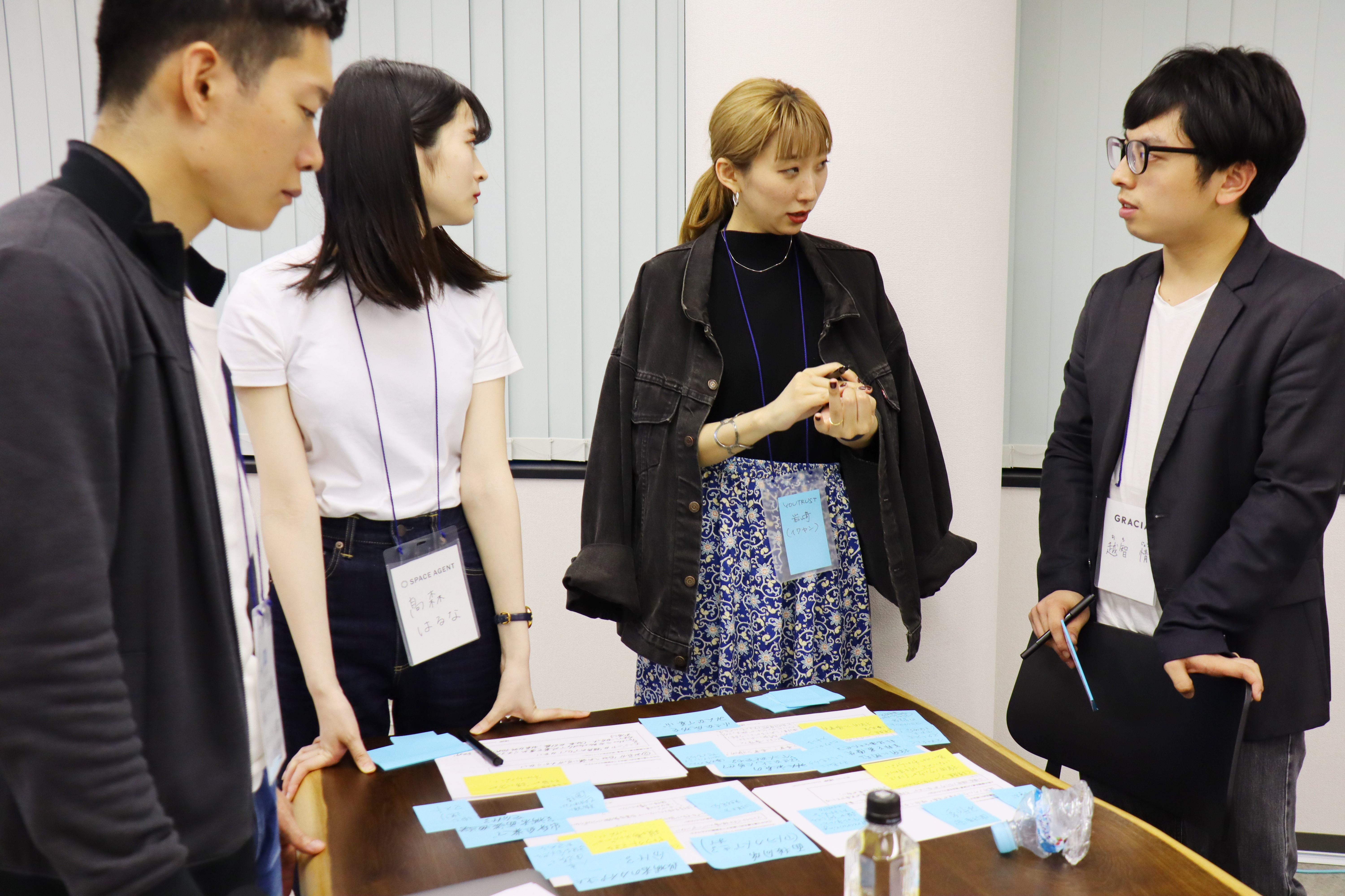 HERPで行われたscrum recruiting workshop